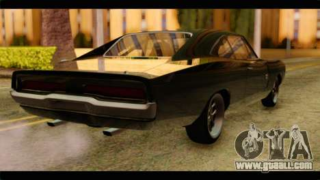 Dodge Charger RT 1970 for GTA San Andreas left view