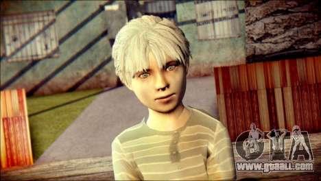 Dante Child Skin for GTA San Andreas third screenshot