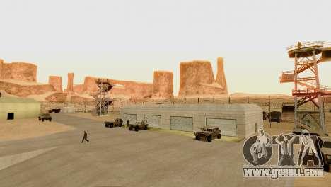 DLC 3.0 Military update for GTA San Andreas eighth screenshot