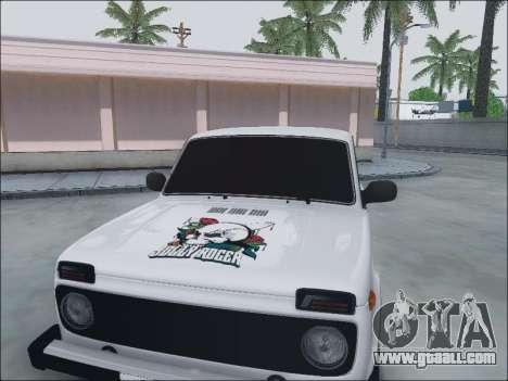 Lada Niva for GTA San Andreas upper view