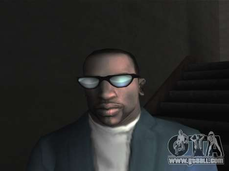 New glasses for CJ for GTA San Andreas second screenshot