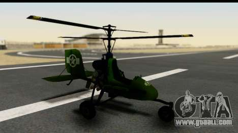 Gyrocopter for GTA San Andreas