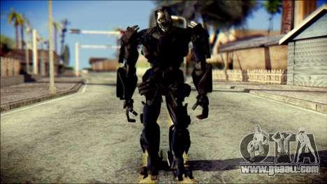Lockdown Skin from Transformers for GTA San Andreas