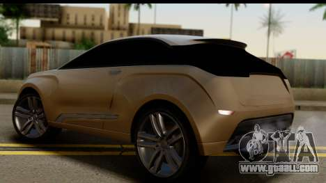 Lada XRay Concept v0.8 for GTA San Andreas left view