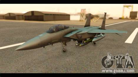 McDonnell Douglas F-15E Strike Eagle for GTA San Andreas
