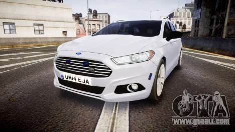 Ford Fusion Estate 2014 Unmarked Police [ELS] for GTA 4