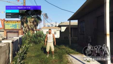 Lamar Missions v0.1a for GTA 5
