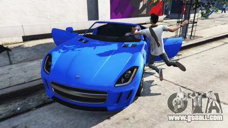 GTA 5 Deadly car door second screenshot