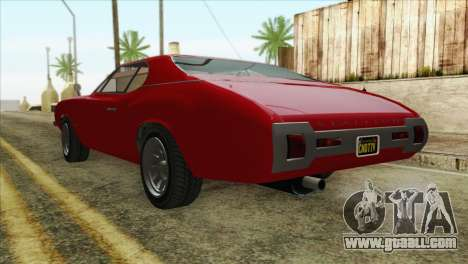 GTA 5 Declasse Stallion for GTA San Andreas left view