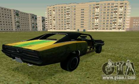 Dodge Charger RT HL2 EP2 for GTA San Andreas left view