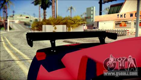 Chevrolet Camaro ZL1 Indonesian Police v2 for GTA San Andreas back view