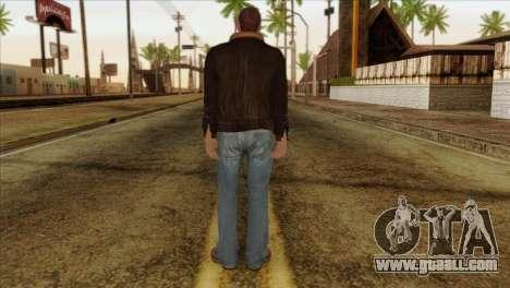 Niko from GTA 5 for GTA San Andreas second screenshot