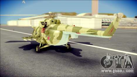 Mi-8 Hip for GTA San Andreas left view