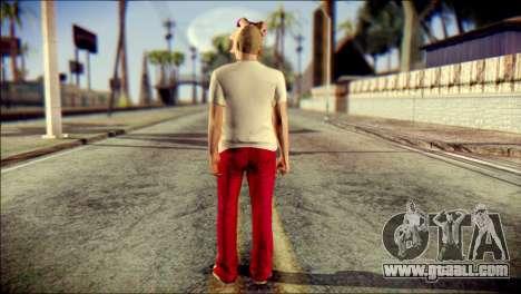 Skin Kawaiis GTA V Online v3 for GTA San Andreas second screenshot