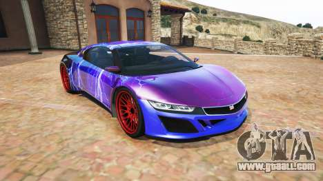 Dinka Jester (Racecar) Lightning PJ for GTA 5