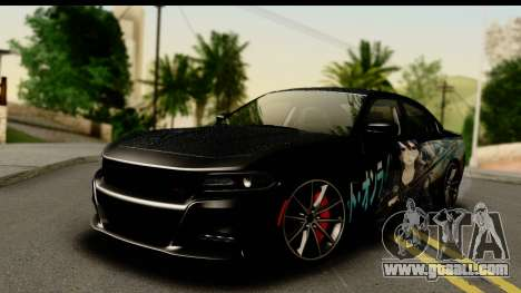 Dodge Charger RT 2015 Sword Art for GTA San Andreas