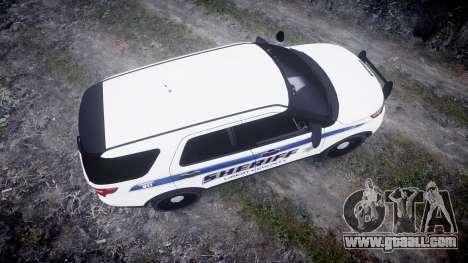 Ford Explorer Police Interceptor [ELS] slicktop for GTA 4 right view