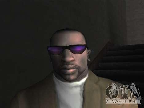 New glasses for CJ for GTA San Andreas forth screenshot