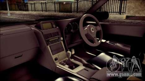 Nissan Skyline GTR V Spec II v2 for GTA San Andreas right view