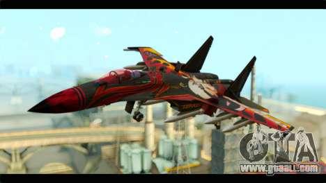 SU-35 Flanker-E Tekken for GTA San Andreas