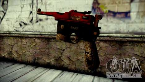 Mauser M1896 Royal Dragon CF for GTA San Andreas second screenshot