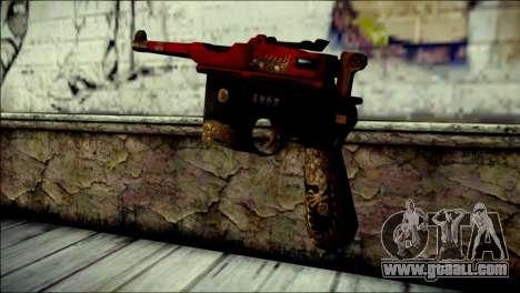 Mauser M1896 Royal Dragon CF for GTA San Andreas second screenshot