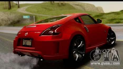 Nissan 370Z Nismo 2010 for GTA San Andreas