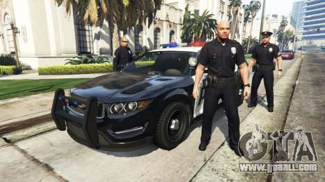 GTA 5 Police Mod 1.0b second screenshot