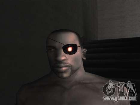 New glasses for CJ for GTA San Andreas eleventh screenshot