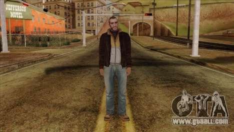 Niko from GTA 5 for GTA San Andreas