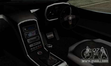 Mitsuoka Orochi Nude Top Roadster for GTA San Andreas right view