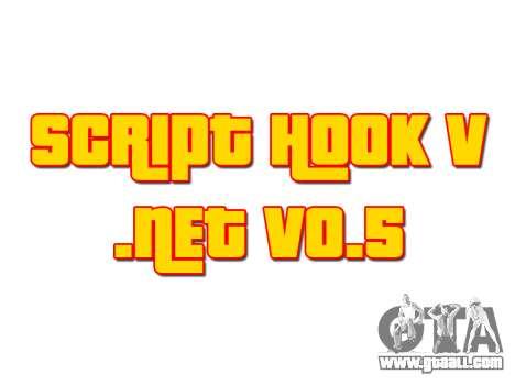 GTA 5 Script Hook V .NET v0.5