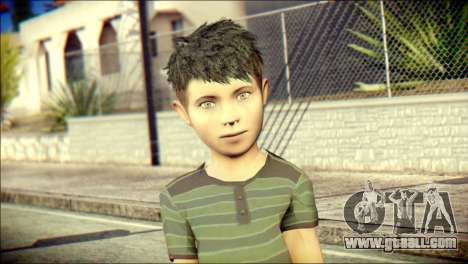 Dante Brother Child Skin for GTA San Andreas third screenshot