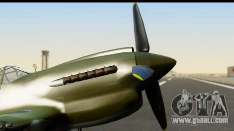 P-40E Kittyhawk IJAAF for GTA San Andreas right view