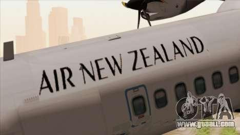 ATR 72-500 Air New Zealand for GTA San Andreas back view