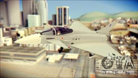 EuroFighter Typhoon 2000 Luftwaffe for GTA San Andreas