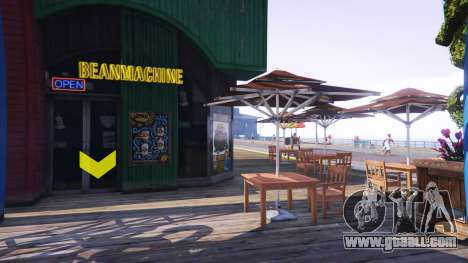 A coffee shop for GTA 5