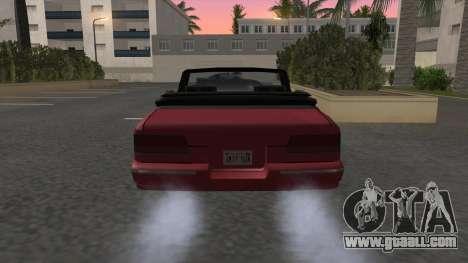 Premier Cabrio for GTA San Andreas back left view