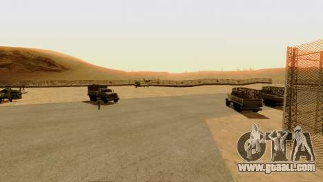 DLC 3.0 Military update for GTA San Andreas seventh screenshot