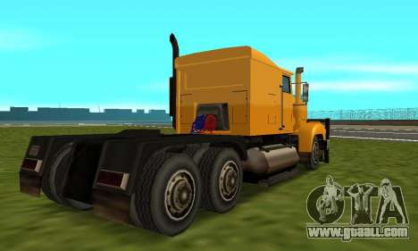 PS2 RoadTrain for GTA San Andreas right view
