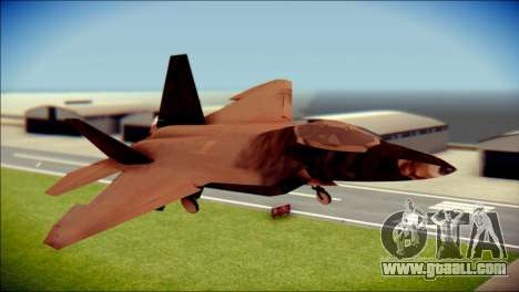 F-22 Raptor G1 Starscream for GTA San Andreas