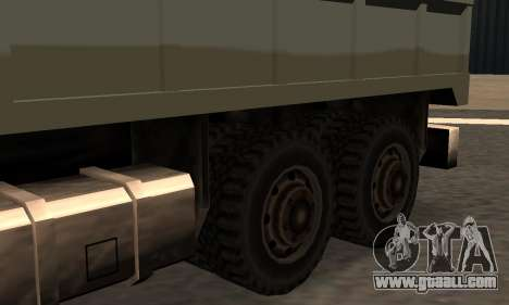 Flatbed Fixed for GTA San Andreas left view