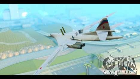 TU-160 Blackjack for GTA San Andreas left view