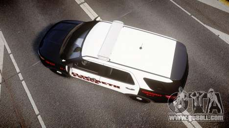 Ford Explorer 2011 Elizabeth Police [ELS] v2 for GTA 4 right view