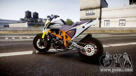 KTM 690 SuperMoto for GTA 4 left view