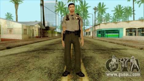 Depurty Alex Shepherd Skin for GTA San Andreas