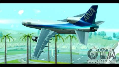 Lookheed L-1011 ANA for GTA San Andreas left view
