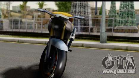NRG Streetfighter for GTA San Andreas back view