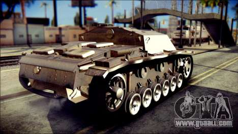 StuG III Ausf. G for GTA San Andreas left view
