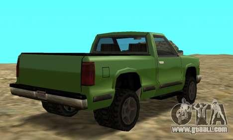 PS2 Yosemite for GTA San Andreas left view